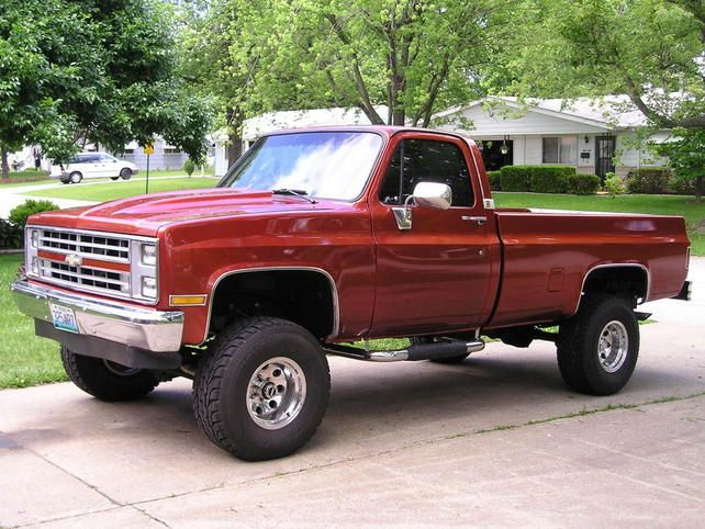 1987 chevrolet shortbed 4x4 for sale