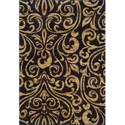 "Black And Tan Area Rugs emerson emily area rug - beige/black (5x7'6"") love chocolate brown"
