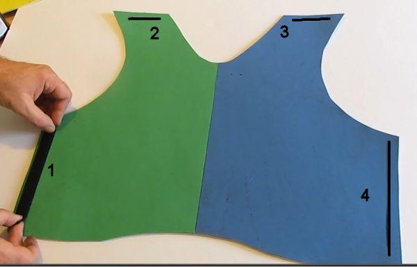 Make A Foam Armor Chest Plate 3 Foam Armor Craft Foam Armor