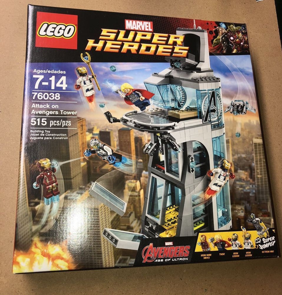 Lego Marvel Superheroes Age of Ultron Set 76038 Attack on