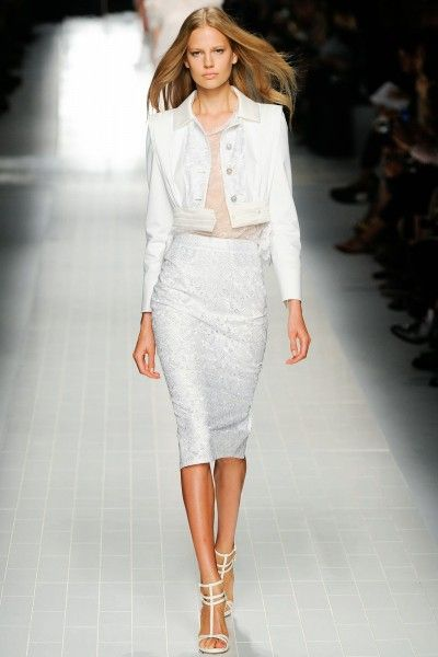 Blumarine Spring / Summer 2014 Outfit White