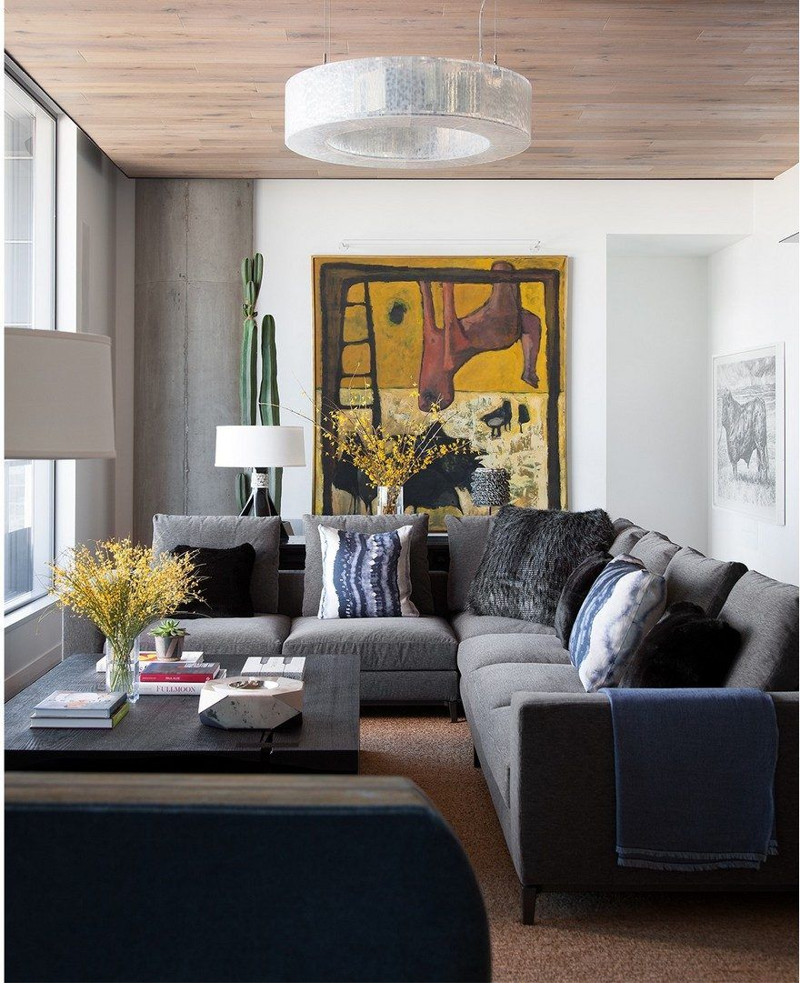 Cravotta Interiors Reimagines The Comforts Of Home In An Austin High Rise