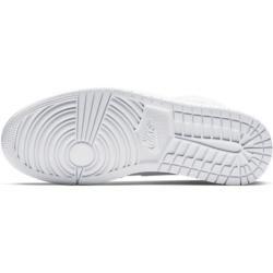 Air Jordan 1 Mid Schuh - Weiß Nike #wintergrunge