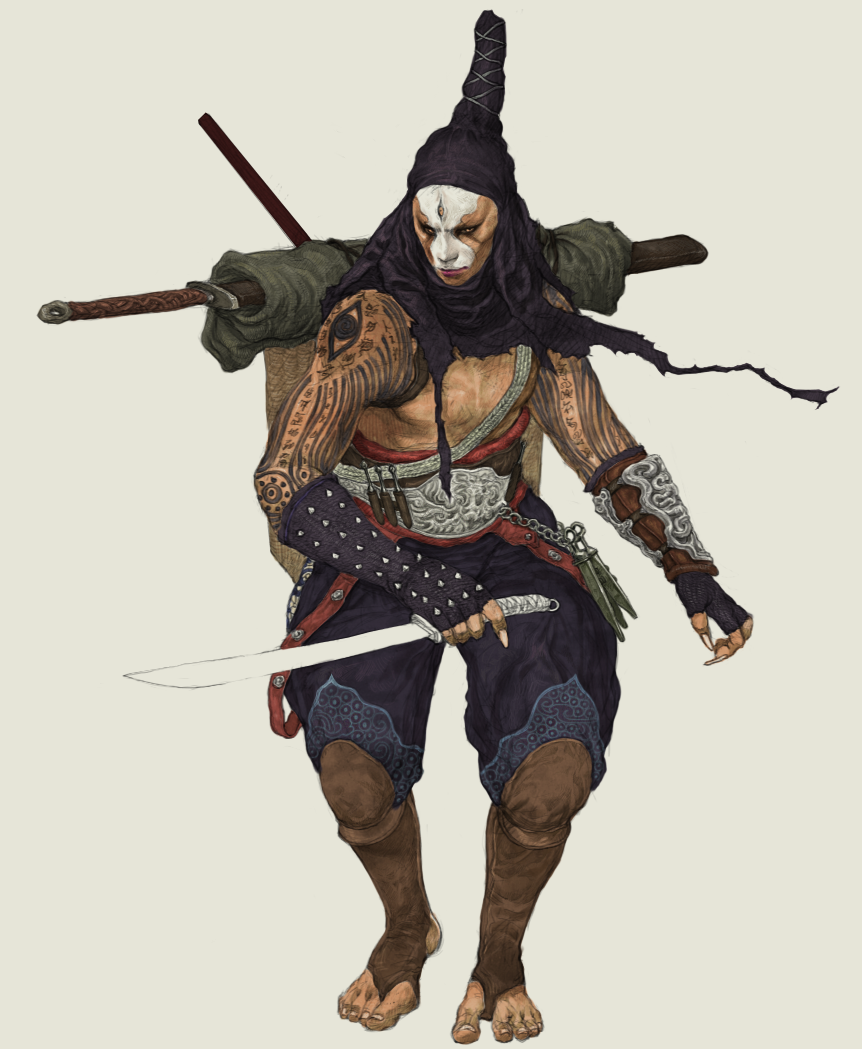 warrior on Behance