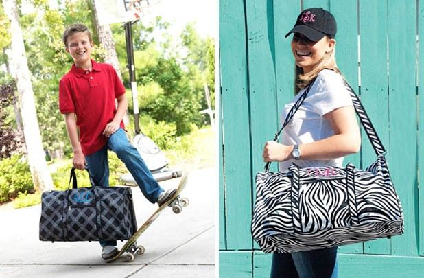 Larger Personalized Duffle Bag 29% off at Groopdealz