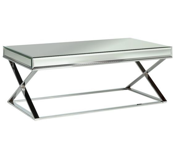 Buy Heart Of House Piazzo Mirrored Top Coffee Table At Argos.co.uk,