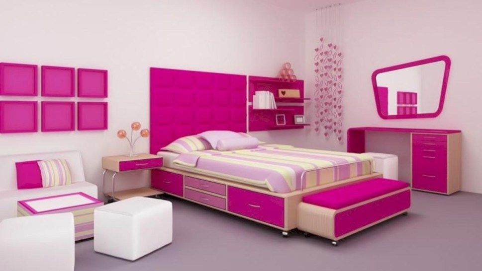 40 Stunning Ideas for Small Rooms Teenage Girl Bedroom Design Magnificent Design Your Own Bedroom