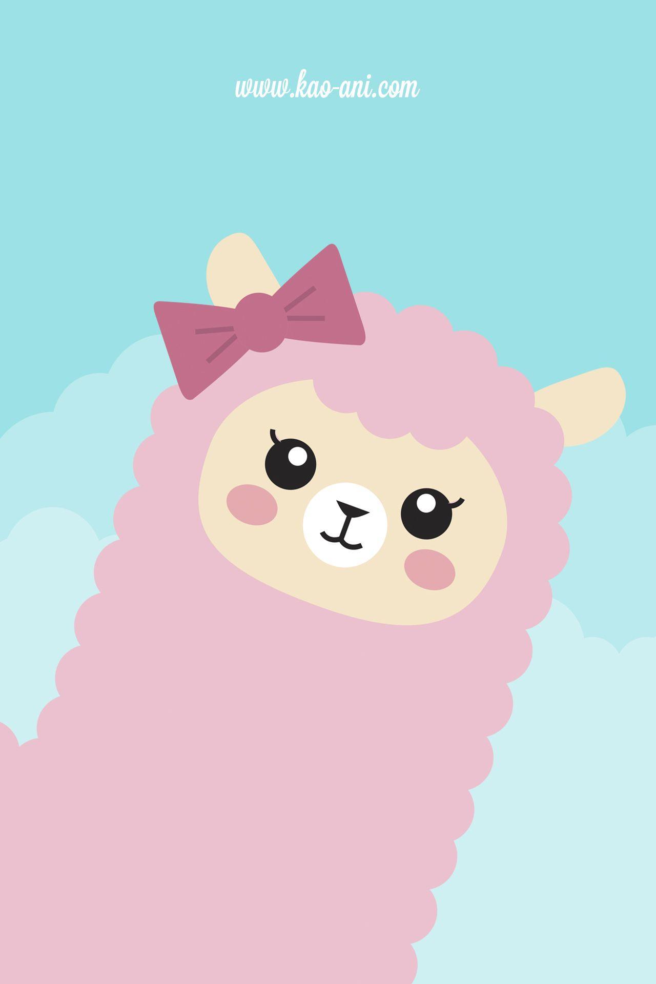 Kawaii iphone wallpaper tumblr - Alpaca Kawaii Buscar Con Google Wallpaper Iphone Cutetumblr