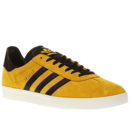 adidas ORIGINALS MEN/'S CAMPUS TRAINERS SNEAKERS SHOES YELLOW VINTAGE RETRO NEW