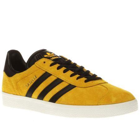 mustard yellow adidas gazelle