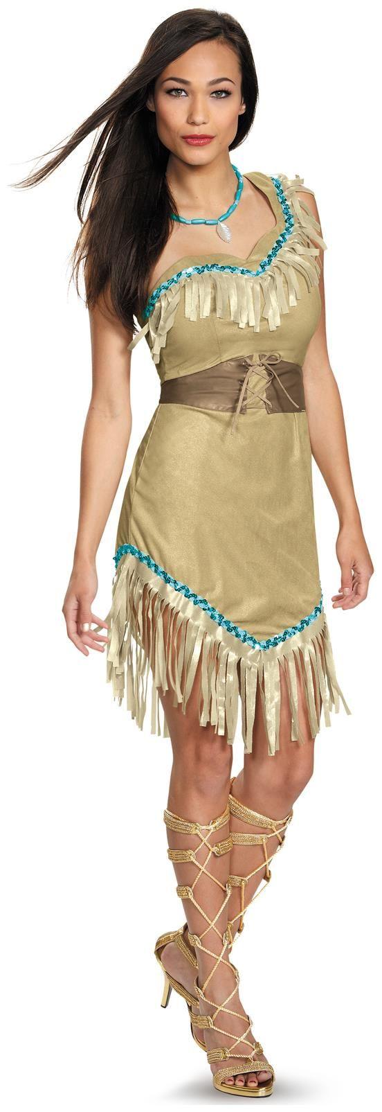 Disney Princess Deluxe Pocahontas Costume For Women