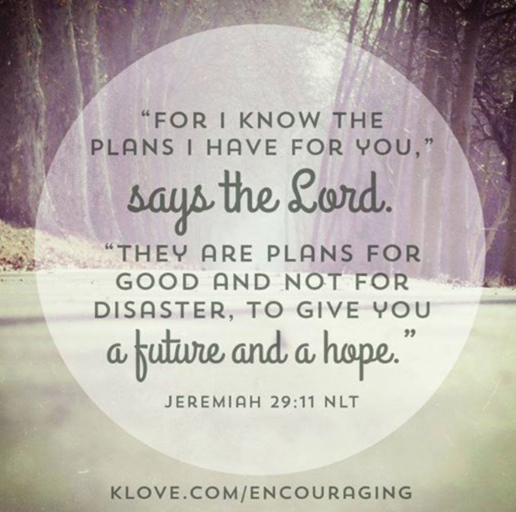 quot for i the plans i for you quot says the lord