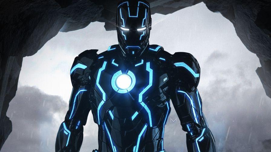 Neon Iron Man 4k Wallpaper Iron Man Wallpaper Iron Man Hd