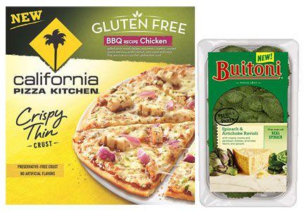 Nestle gluten-free California Pizza Kitchen pizza Buitoni pasta ...