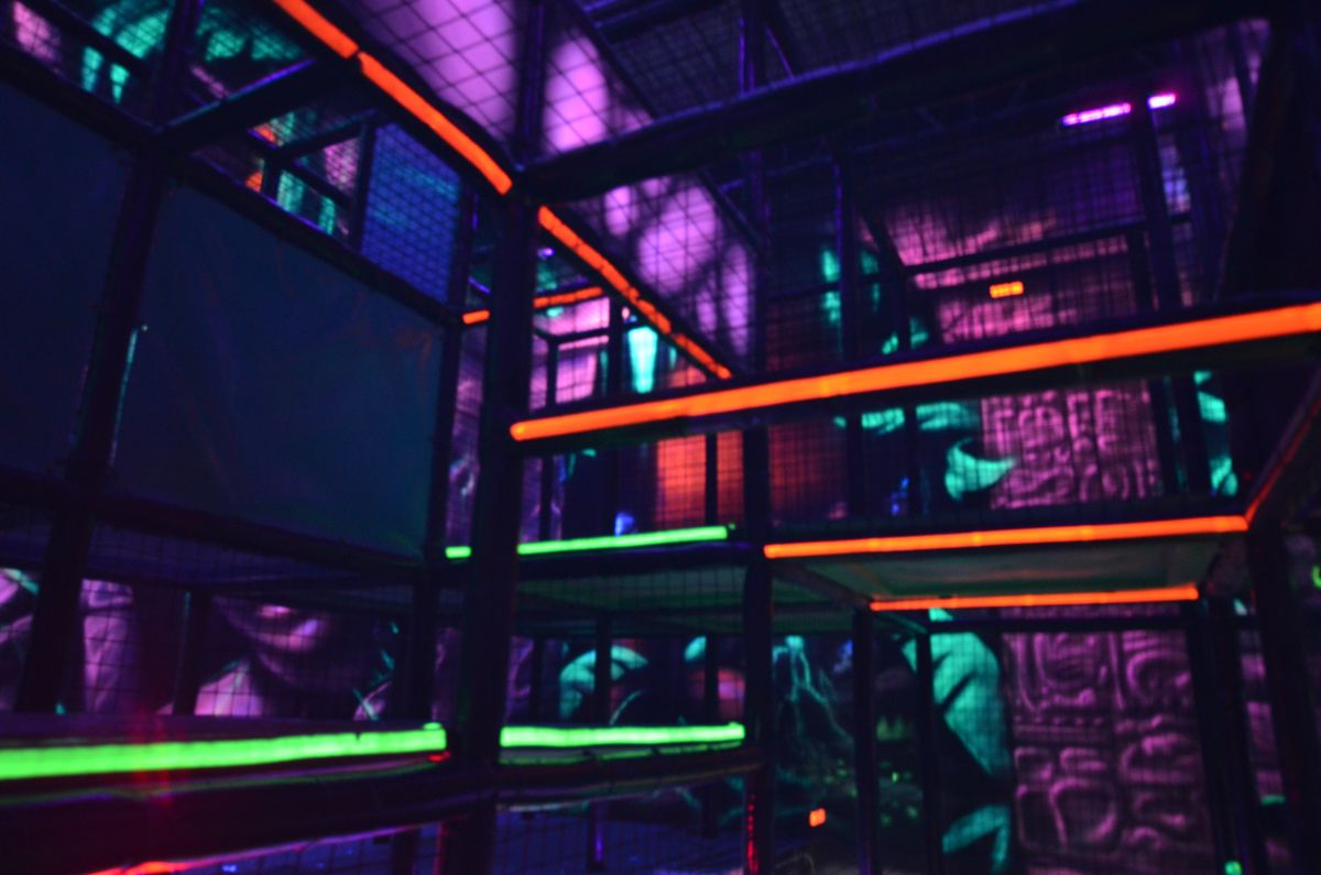 Laser Tag We Design Manufacture And Install Laser Tag Arenas Great Addition To Your Fec Contact Us At Sales Playground Indoor Playground Playground Design