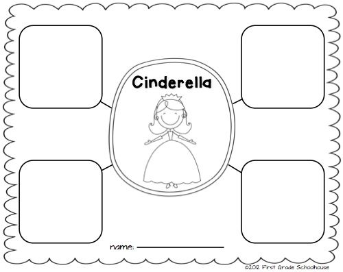 Cinderella and the Common Core Standards. Printable by