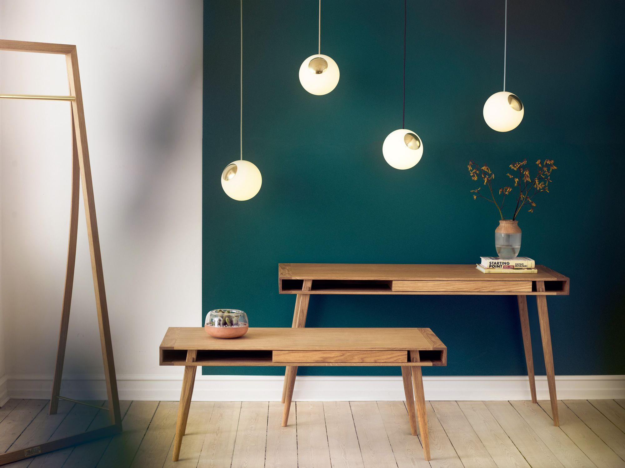 Bright Vision Is A Suspension Lamp Designed By Jonas Højgaard For Nordic  Tales, Made From Two Halves, One Half In Opal Glass And One Half In Metal.