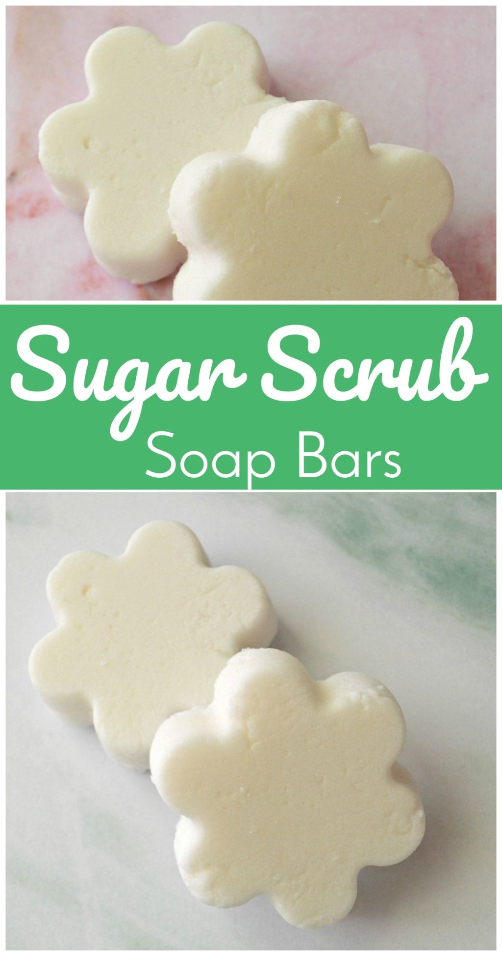 DIY Sugar Scrub Bars #sugarscrubrecipe