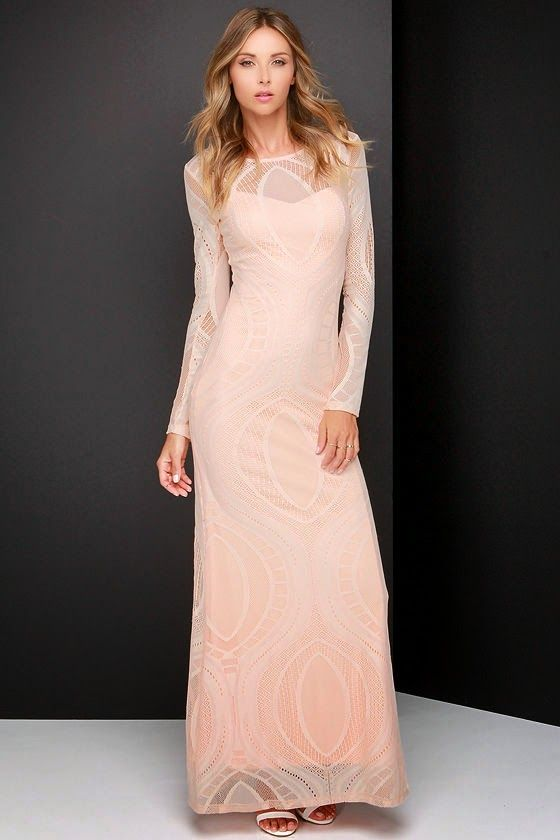 7f0caffe9e Modest formal party maxi dress with sleeves