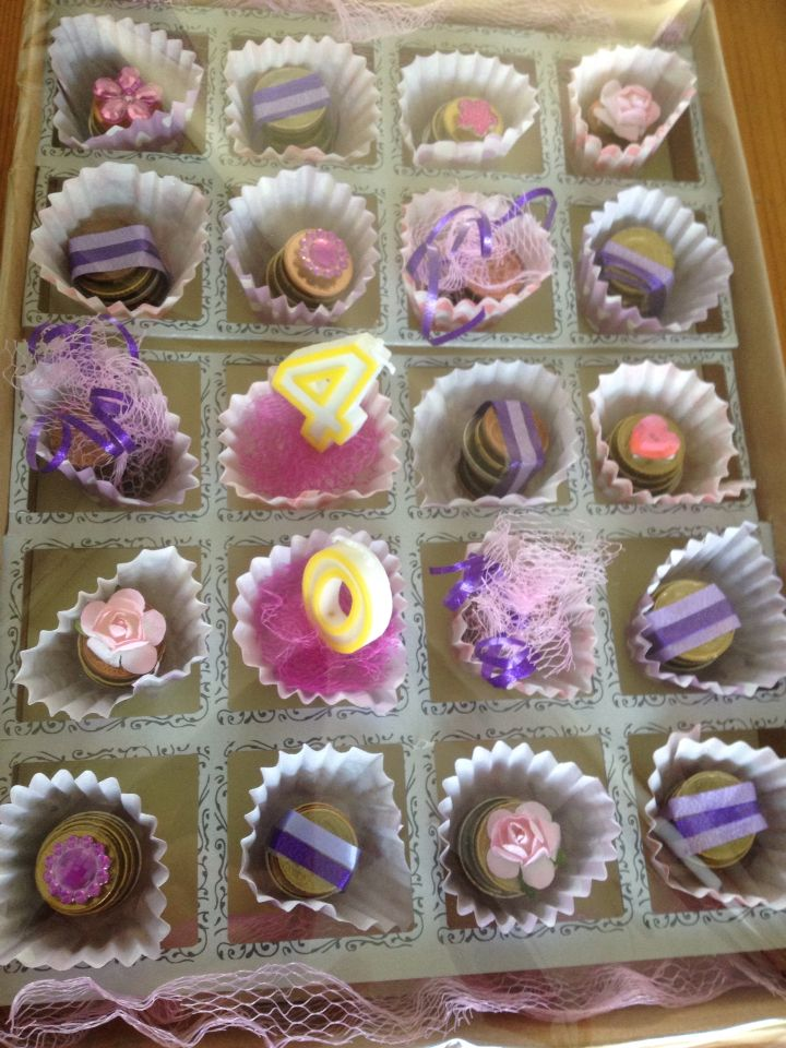 Bonbons van muntgeld