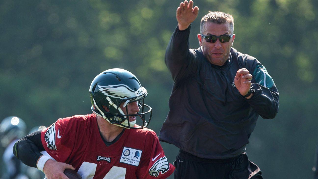 Vikings hire Eagles' DeFilippo to run offense Nfl news
