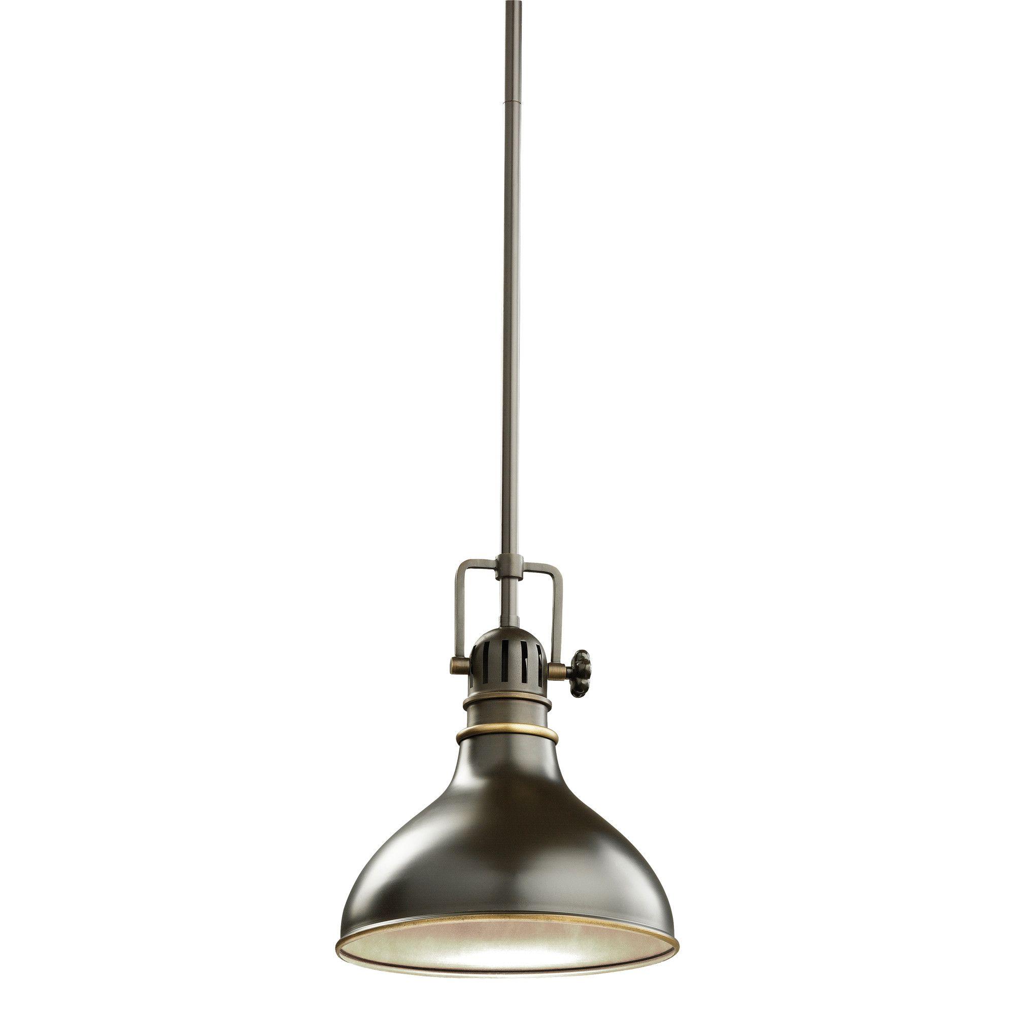 kichler fresnel light mini pendant u reviews wayfair