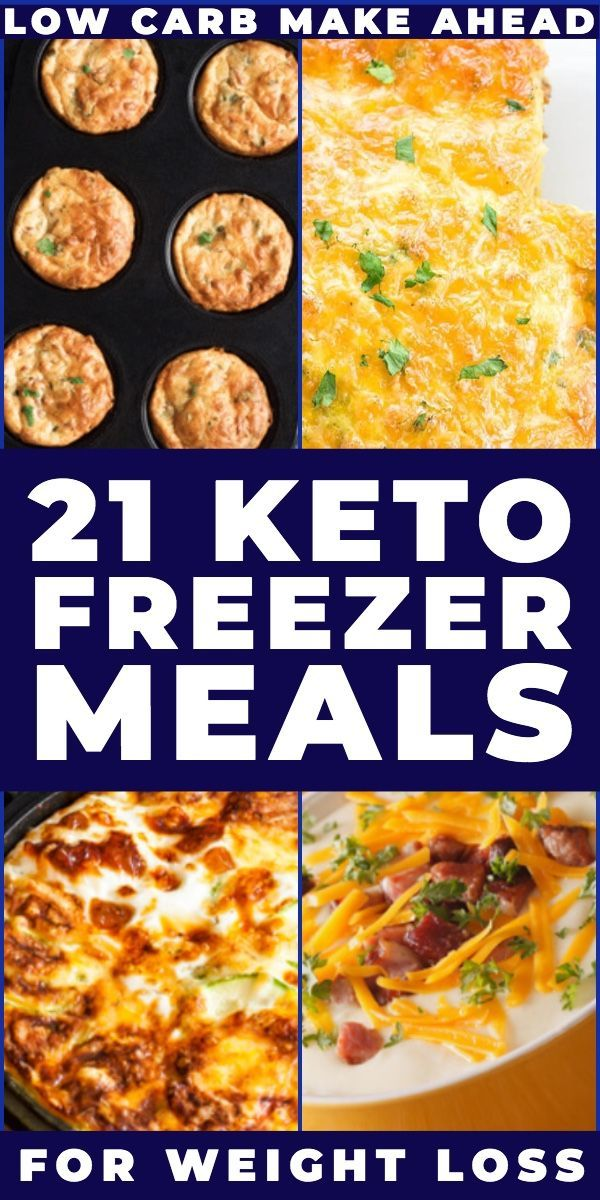 21 Simple Make Ahead Keto Freezer Meals [Low Carb Freezer Recipes]