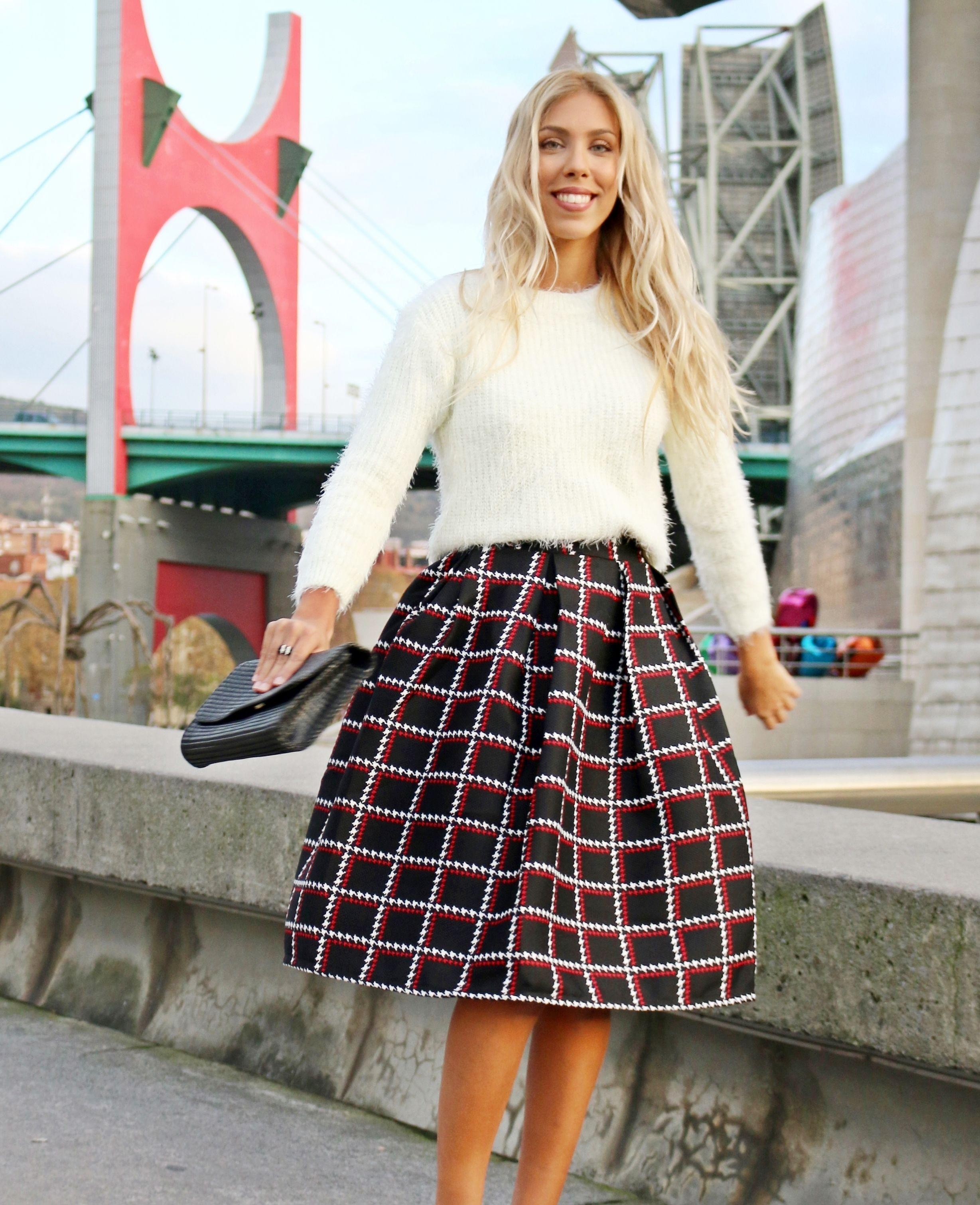 La falda perfecta   Perfect skirt  Sheinside  kissmylook 60acc7569501