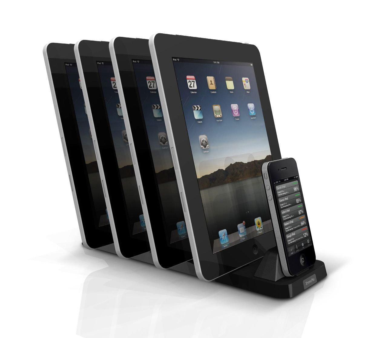 10 Ways To Charge Multiple Ipads Iphones And Ipods At Once Ipad Charging Station