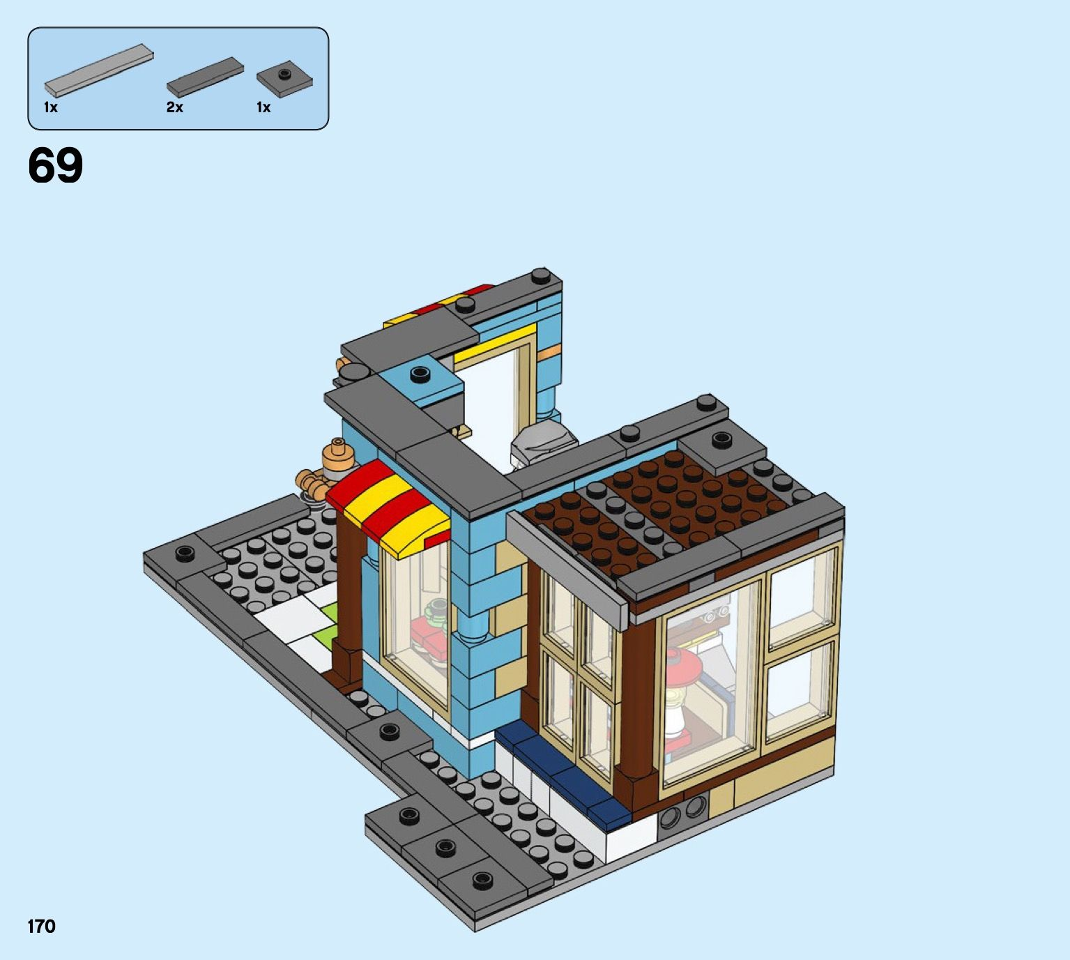 Creator Townhouse Toy Store [Lego 31105] in 2020 Toy