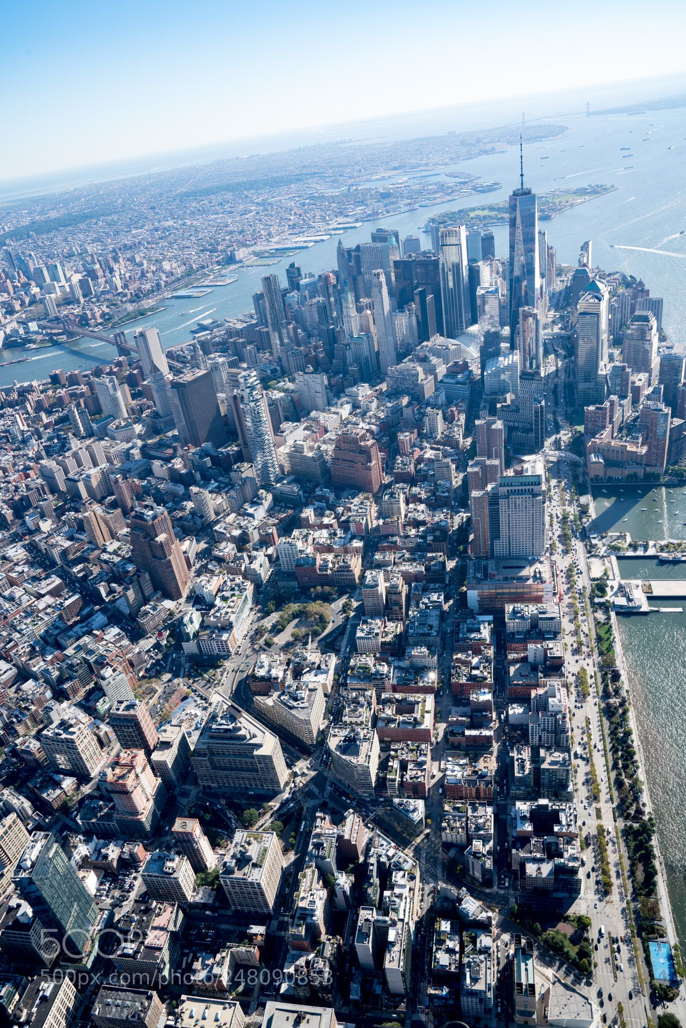 Tribeca New York City by air_cover_lax