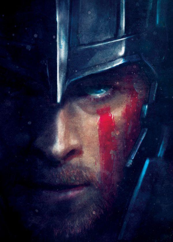 Thor Ragnarok Character Portraits Displate Posters