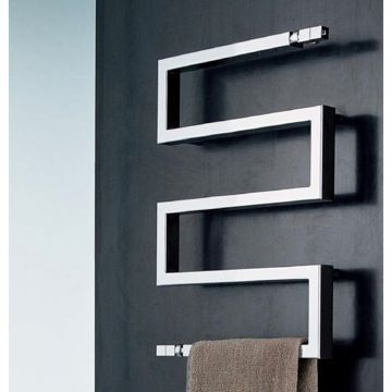 Buy Nameeks Snake 50 9010 Towel Warmer In Chrome Finish From Home Perfect  By Scirocco   Pricy But Modern And Beautiful