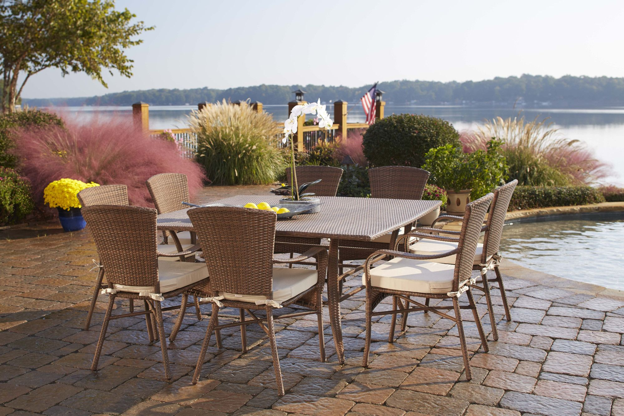 Key Biscayne 9 Piece Dining Set | Products | Pinterest