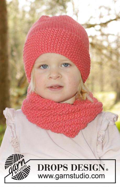 Photo of Papaya Punch / DROPS Children 27-14 – Modèles tricot gratuits de DROPS Design