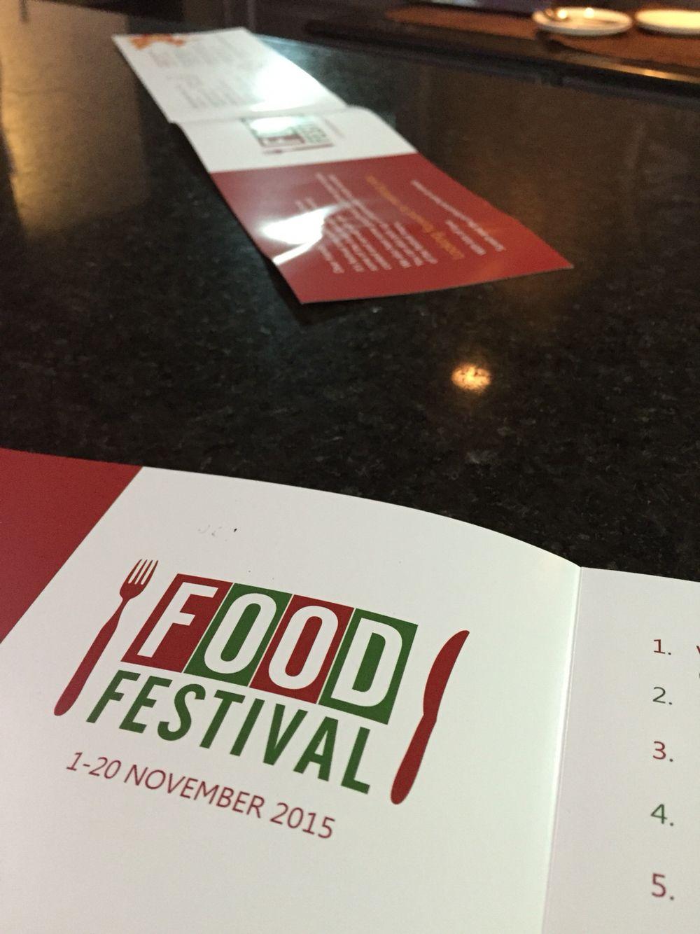 Annual food festival food festival cards against