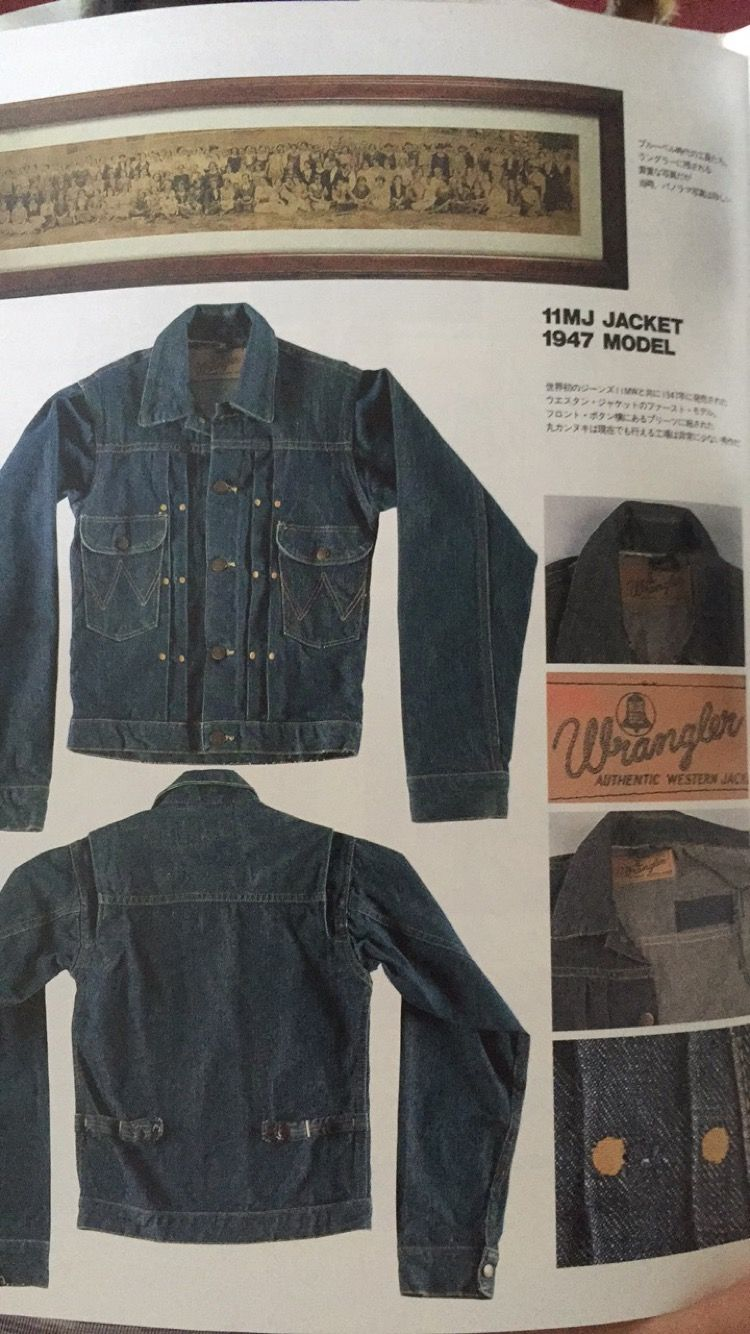 Wrangler 1947 Jacket Work Wear Jackets Denim Jacket [ 1334 x 750 Pixel ]