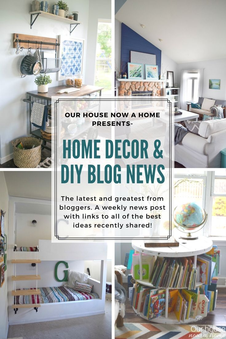 Home decor & DIY blog news, inspiring projects from this week ...