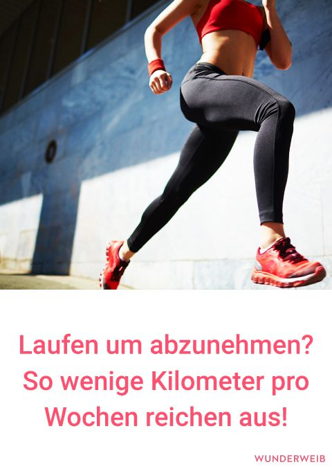 Wie man richtig joggt, um Gewicht zu verlieren