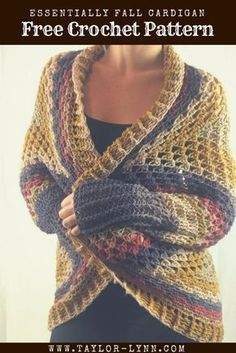 Pin By Sandy Dawson On Crochet Patterns Crochet Cardigan Pattern Crochet Sweater Crochet