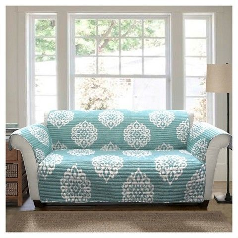 Blue Sophie Furniture Protector Sofa Slipcover