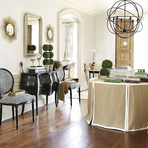Louis mirror small overall 37 1 4h x 25 1 · skirted tableballard designstableclothsburlap