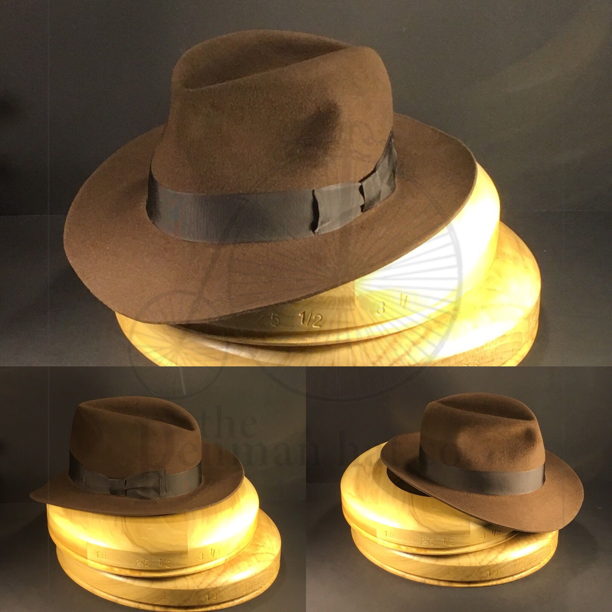 2e8ea6658caf4 Just finished this  indianajones  kingdomofthecrystalskulls  fedora  hat  from  penmanhats  OnlyPenman