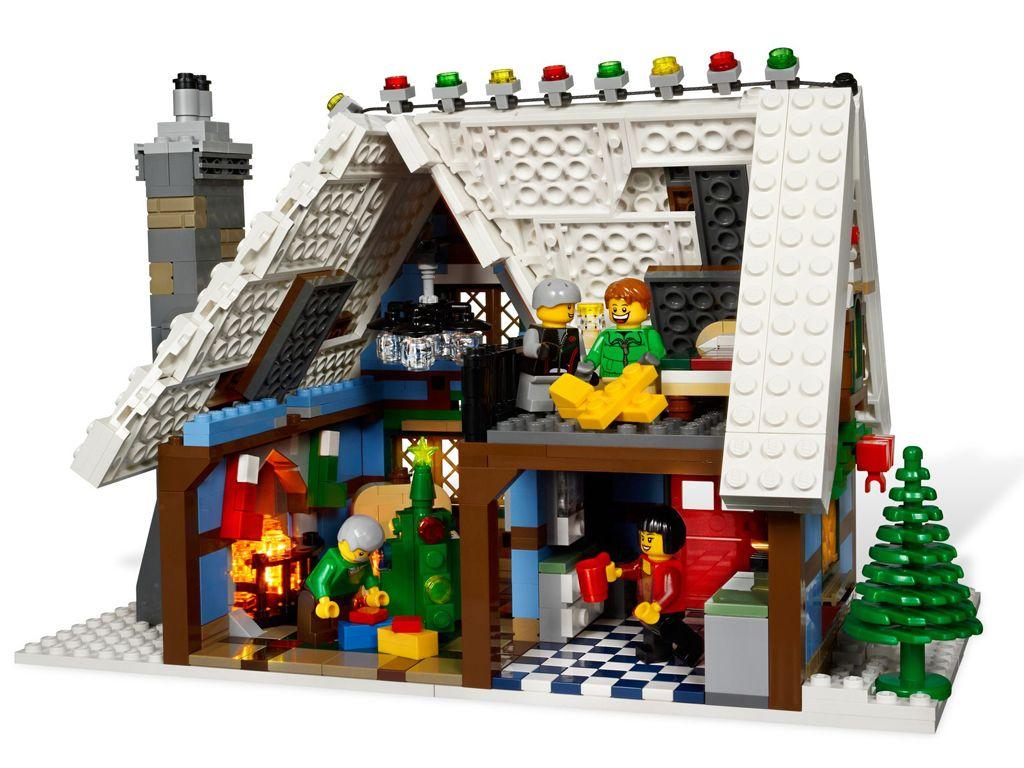 Lego Winter Village Cottage 10229 Revealed A Lego A Day Lego Winter Lego Christmas Lego Winter Village