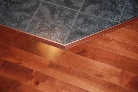tile around fireplace and wood floor | Put some weights on the ...