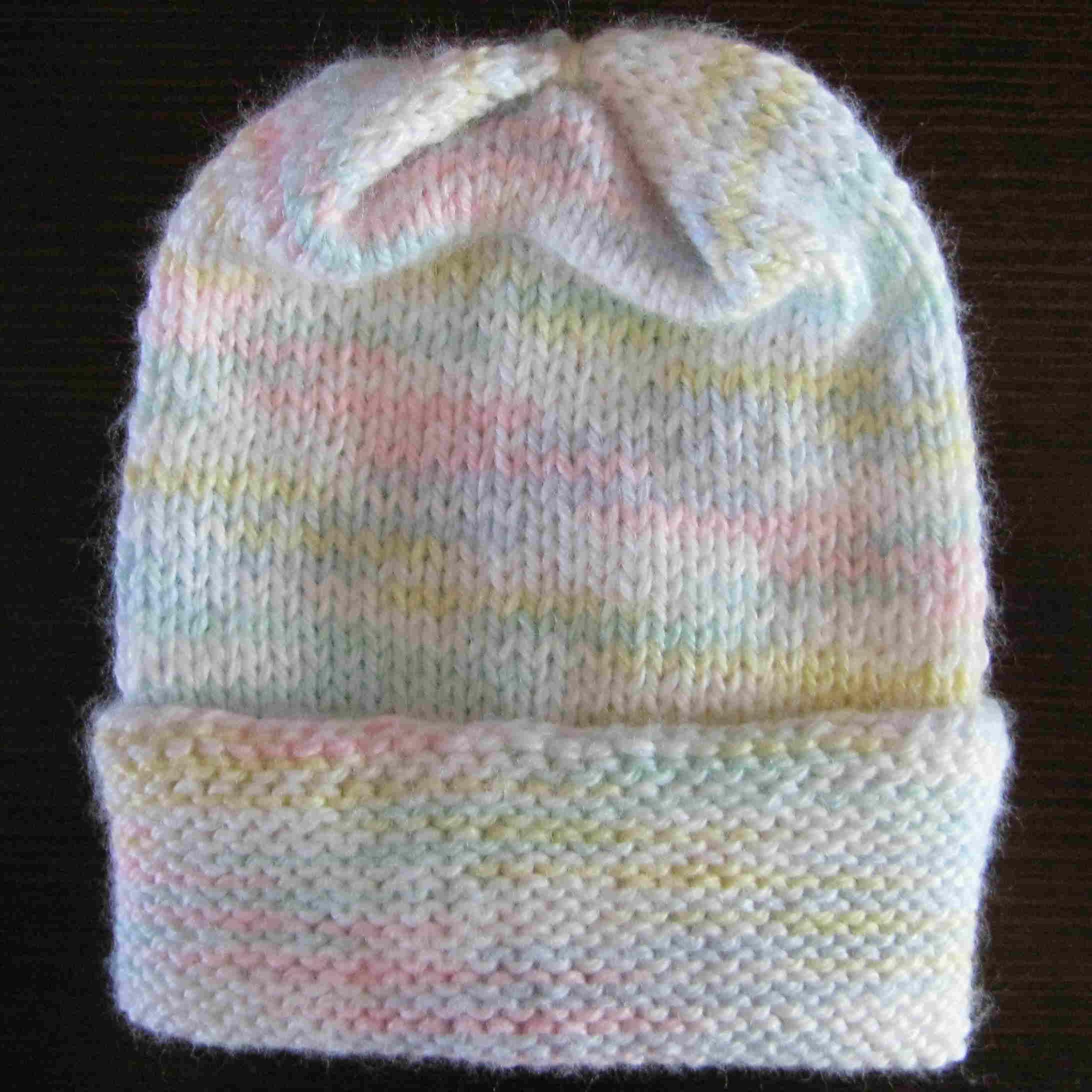 preemie baby knit hat | Knit Ideas | Pinterest | Preemies, Preemie ...