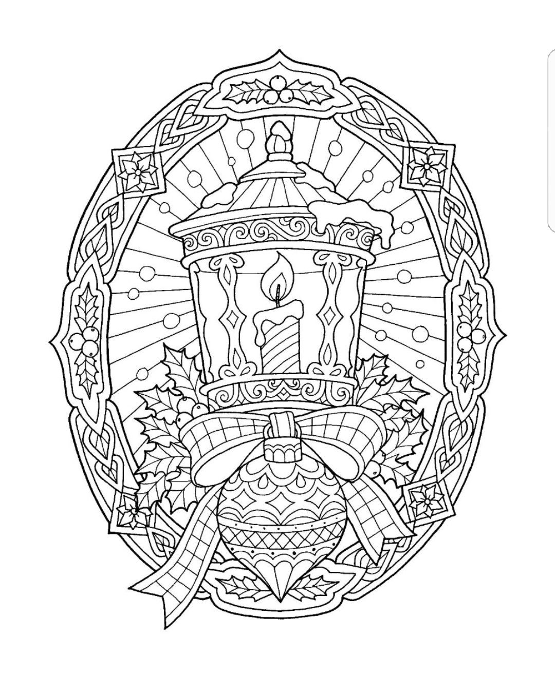Pin By Amberly Emery On Malebog Jul Free Christmas Coloring Pages Mandala Coloring Pages Christmas Coloring Books