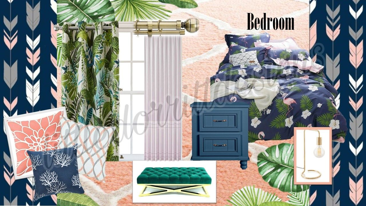 Pink Blue And Green Bedroom Bedroom Color Schemes Bedroom Colour Schemes Green Bedroom Colors