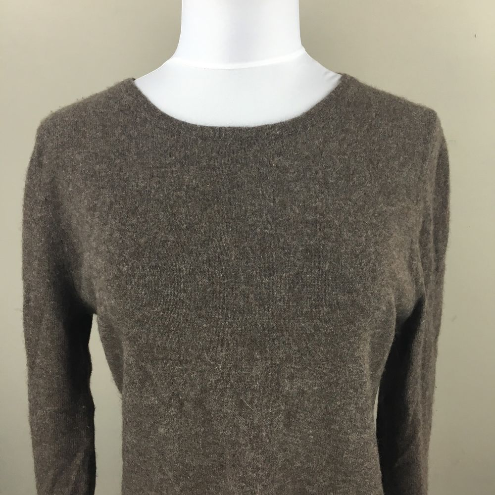 Philosophy Dane Lewis Large Women's Sweater Brown Cashmere | eBay ...