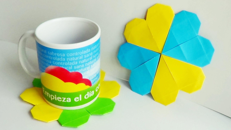 Origami: Posavasos - Hogar Tv  por Juan Gonzalo Angel